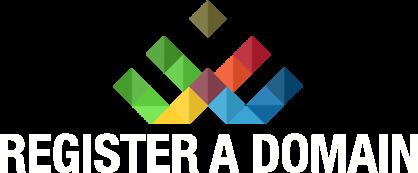 The Register a Domain logo